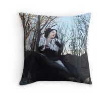 Model: Atrophy ll Throw Pillow