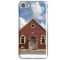 Masonic Hall in Pinjarra WA iPhone Case/Skin