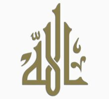 Allah (gold)... by Nuh Sarche