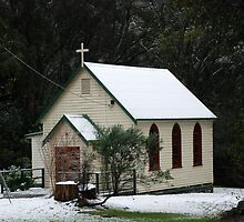 Christmas in July, Kinglake, Victoria by Clare McClelland