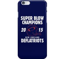 Deflate Gate - Vintage Deflatriots Super Blow Champions iPhone Case/Skin