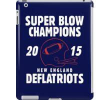 Deflate Gate - Vintage Deflatriots Super Blow Champions iPad Case/Skin