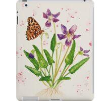 Laced Fritillary & Arrowhead Violet iPad Case/Skin