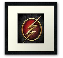 The Flash CW Tv Show Framed Print