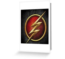 The Flash CW Tv Show Greeting Card