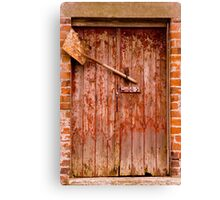 Door & Shovel Canvas Print