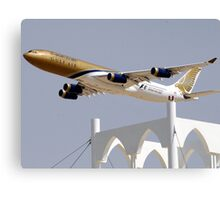 Gulf Air A340 Canvas Print