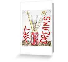 ART DREAMS Greeting Card