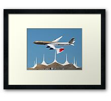 Gulf Air A340-2 Framed Print