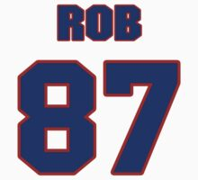 National football player Rob Coons jersey 87 by imsport
