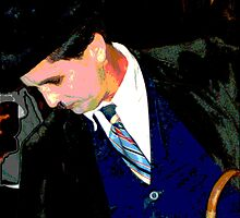 Personifying  Chaplin by Carole Boudreau