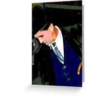 Personifying  Chaplin Greeting Card
