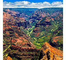 Waimea Canyon Photographic Print