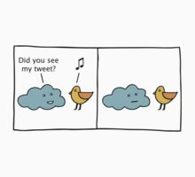 Cloud vs Tweet  by zuzu
