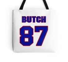 National football player Butch Rolle jersey 87 Tote Bag