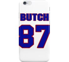 National football player Butch Rolle jersey 87 iPhone Case/Skin