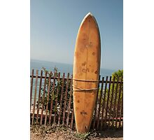 Surfboard Photographic Print