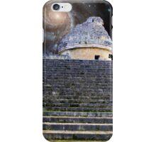 El Caracol Observatory - Chichen Itza, Mexico iPhone Case/Skin