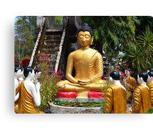 Buddha Garden Canvas Print