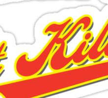 Property of St Kilda Baseball Club Script T-Shirt Black/White/Charcoal/Grey Sticker
