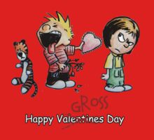 Valentines Day Calvin and Hobbes and Susie Fan Art Kids Clothes