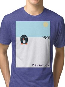 Maverick Penguin Tri-blend T-Shirt