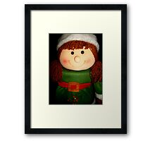 """""""My Name is Happy"""" Framed Print"""