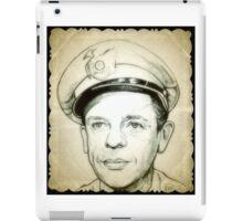 Don Knotts, Barney Fife drawing iPad Case/Skin