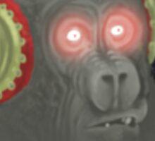 Gorilla Vynil Sticker