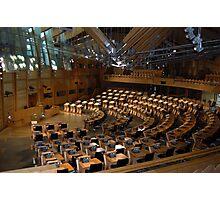 The Scottish Parliament, Edinburgh Photographic Print