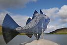 Fish Sculpture, Voe by Richard Ion