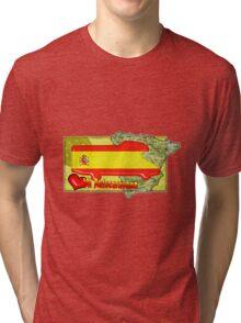 Autocaravana Espana Tri-blend T-Shirt