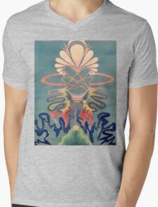 Plugged In Mens V-Neck T-Shirt