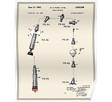 Space Capsule Patent (v2) Poster