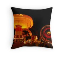 Along the Midway Throw Pillow