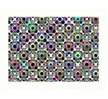 Dot Pattern 1 Art Print