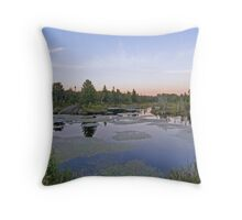 Northern Ontario Evening Throw Pillow