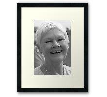 Dame Judi Dench number 2 Framed Print