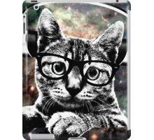 Space Kitty - Headphones On iPad Case/Skin