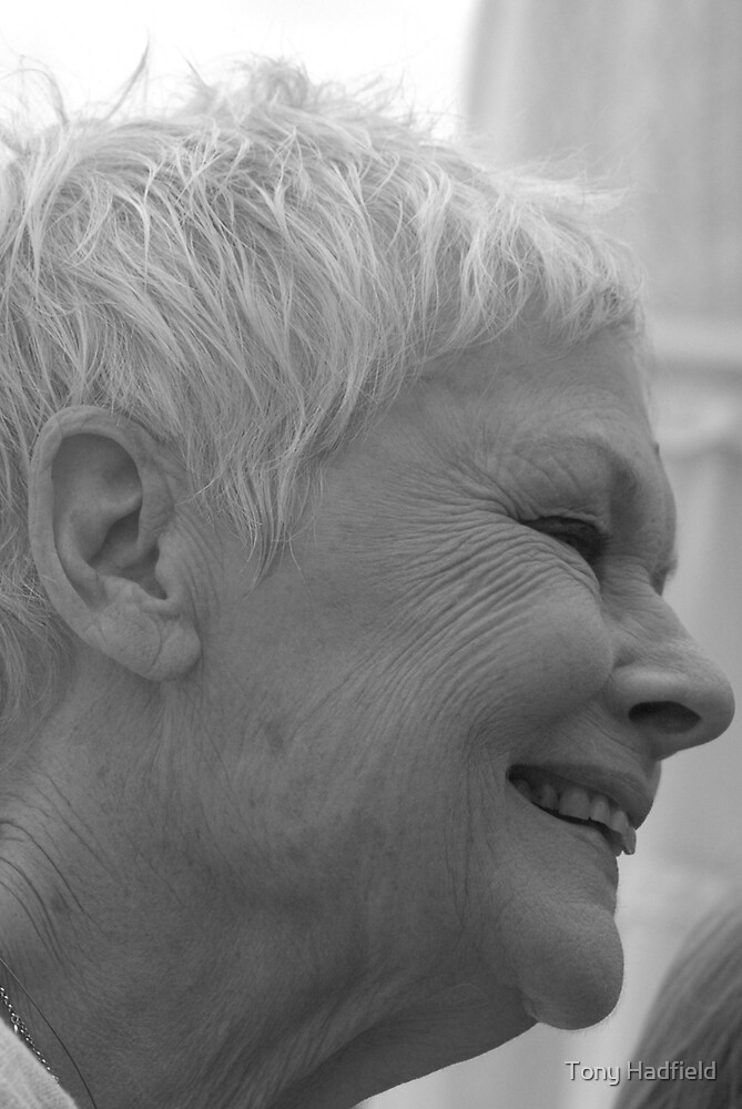 Dame Judi Dench number 3 by Tony Hadfield