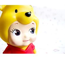 Cute Pooh Photographic Print
