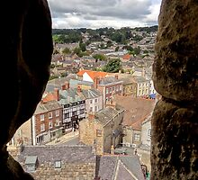 """UK: """"A Glimpse of Richmond"""", North Yorkshire by Kelly Sutherland"""