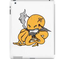 Scalawag The Octopus - Yellow iPad Case/Skin