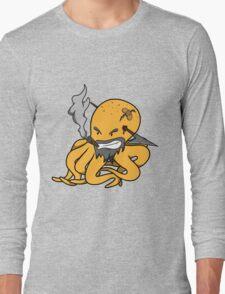 Scalawag The Octopus - Yellow Long Sleeve T-Shirt