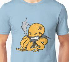 Scalawag The Octopus - Yellow Unisex T-Shirt