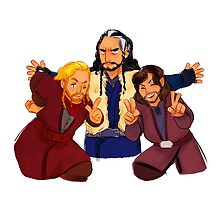 durin's sons by seadeepspace