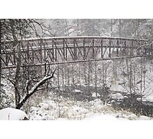 A Winters Bridge Photographic Print