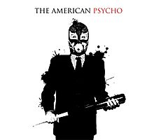 The American Psycho Photographic Print