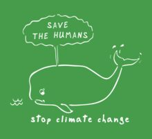 Save the Humans for Dark Colours Kids Clothes