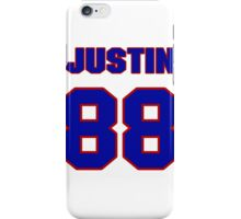 National football player Justin Armour jersey 88 iPhone Case/Skin